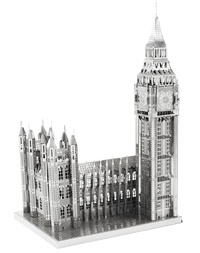 Metal Earth ICONX: Big Ben - Model Kit image