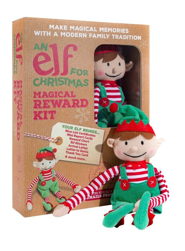 An Elf For Christmas - Boy Elf & Magical Reward Kit