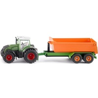 Siku: Fendt with Hooklift Trailer and Carriage