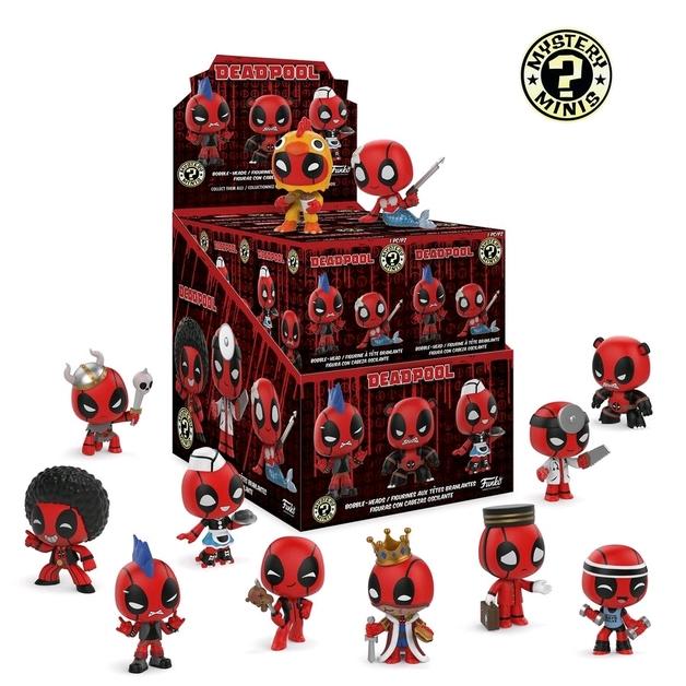 Deadpool: Playtime Mystery Mini - Vinyl Figure (Blind Box)