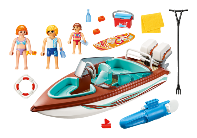 Playmobil: Family Fun - Speedboat & Underwater Motor (9428)