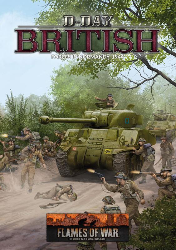 "Flames of War: ""D-Day British"" (LW 80p A4 HB)"