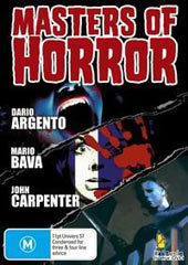 Masters Of Horror (3 Disc Set) on DVD