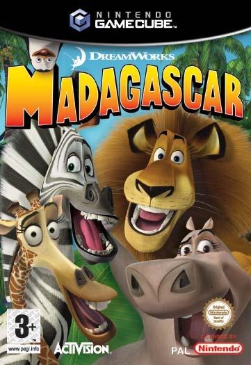 Madagascar for GameCube