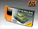 AK: Olive Drab Colour Modulation set
