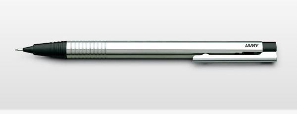 Lamy logo Mechanical Pencil - Black Stainless Steel (0.5mm) image