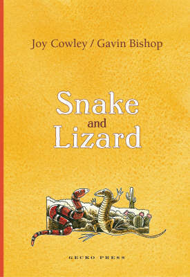 Snake and Lizard by Gavin Bishop image