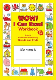 Learning Can Be Fun - A4 Wow I Can Read - Stage 2: Blends & Ends