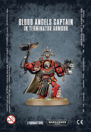 Warhammer 40,000 Blood Angels Terminator Captain
