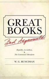 Great Books, Bad Arguments by W.G. Runciman image