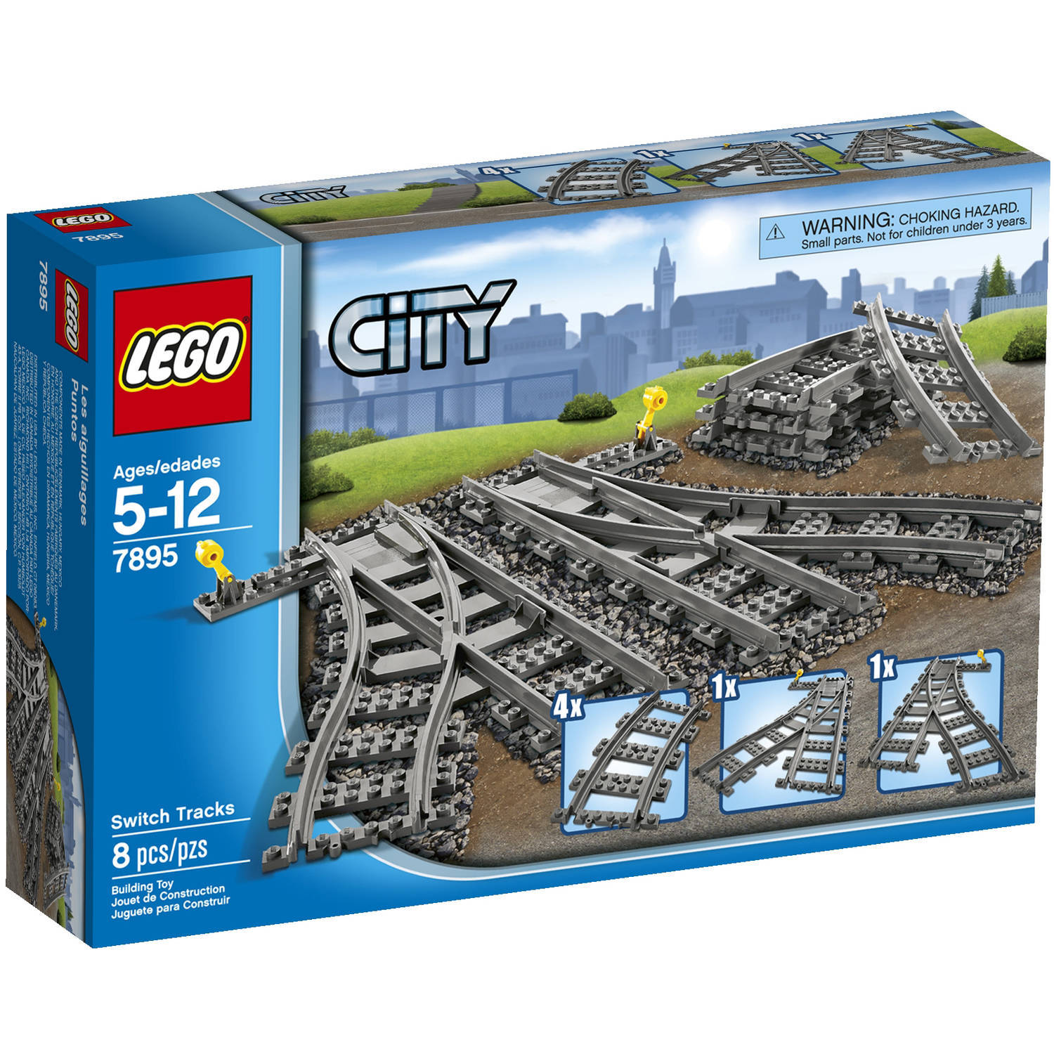 LEGO City: Switching Tracks Set (7895) image