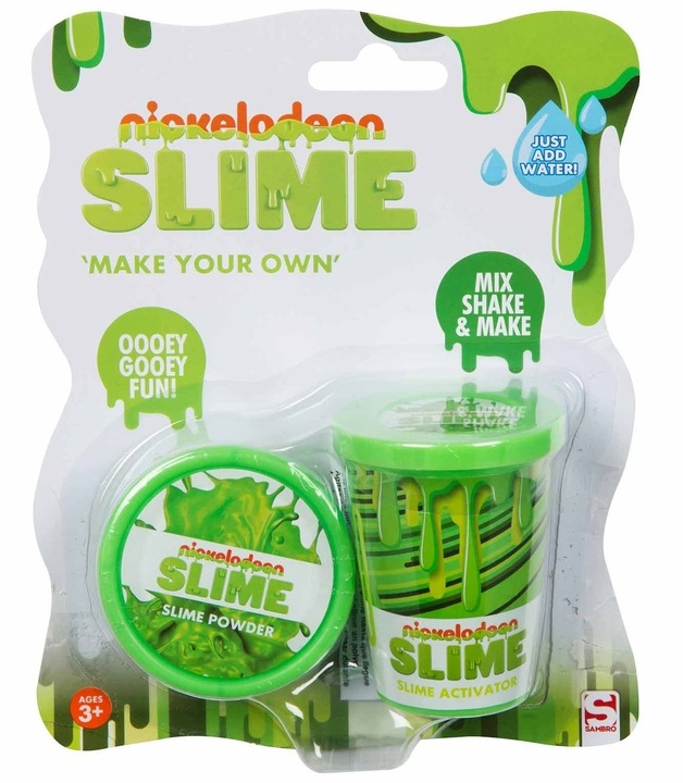 Nickelodeon: Make Your Own Slime Set - Green