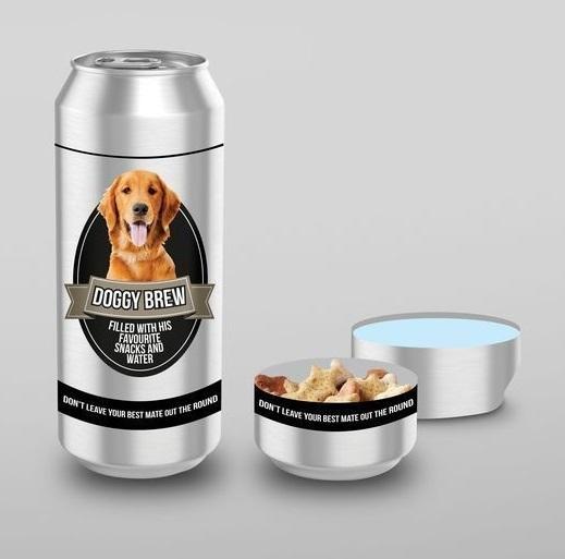 Dog Brew - Doggy Treats & Water Storage Tin image