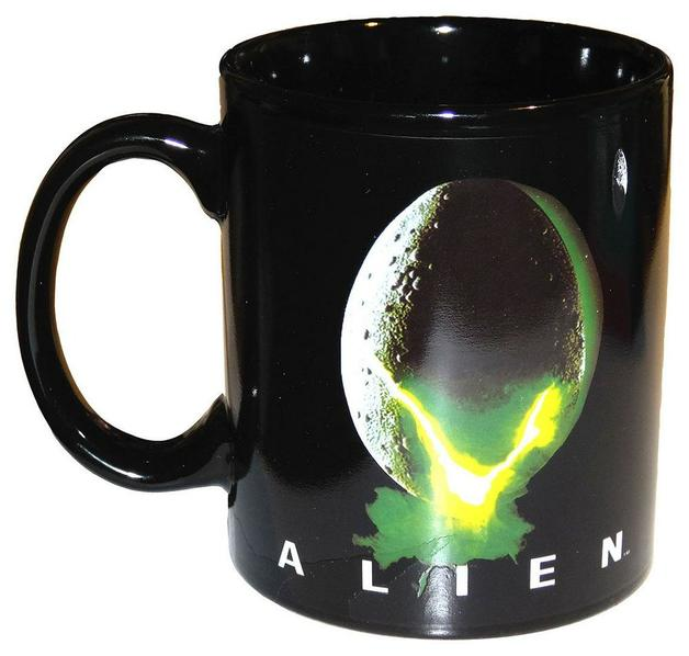 Alien - Egg Logo Heat Change Mug