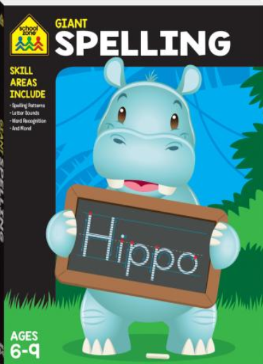 Giant Workbook: Spelling