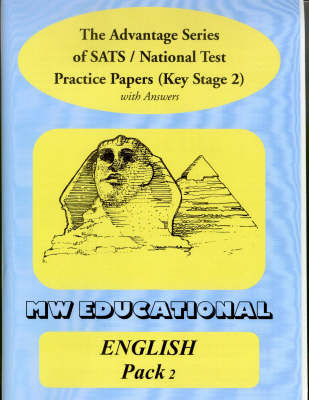 English Key Stage Two National Tests: With Answers: Pack Two by Mark Chatterton image
