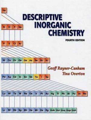 Descriptive Inorganic Chem by Rayner-Canham