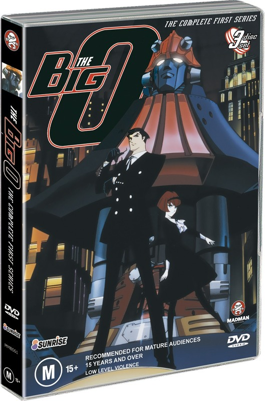 Big O - Series 1 Collection (3 DVDs) on DVD