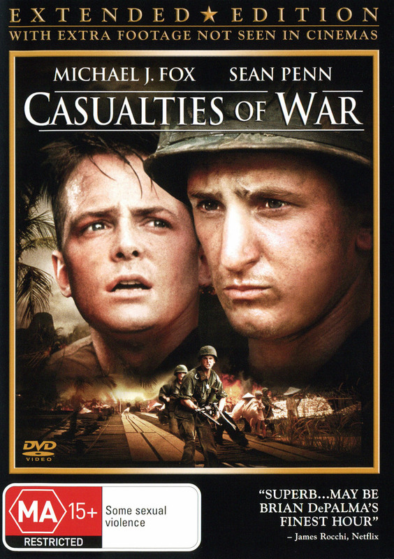 Casualties of War - Extended Edition on DVD