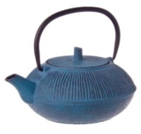 Blue Straw Cast Iron Teapot (800ml)
