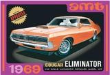 AMT: 1/25 Mercury Cougar (Orange) - Model Kit