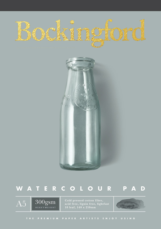 Bockingford: A5 300GSM Watercolour Pad - 10 Leaf
