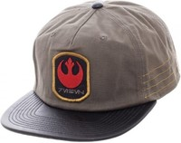 Star Wars: Rogue One - Distressed Rebel Slouch Snapback Cap