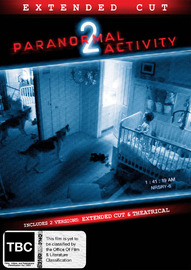 Paranormal Activity 2 on DVD