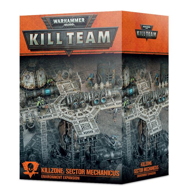 Warhammer 40,000: Kill Team - Kill Zone Sector Mechanicus