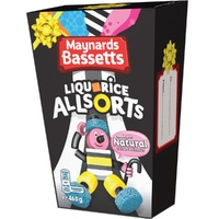 Bassetts Liquorice Allsorts Carton (400g)