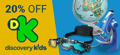 20% off Discovery Kids!