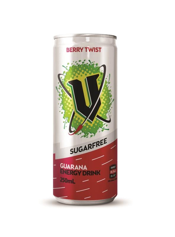 V Sugar Free - Berry Twist (24 x 250ml)