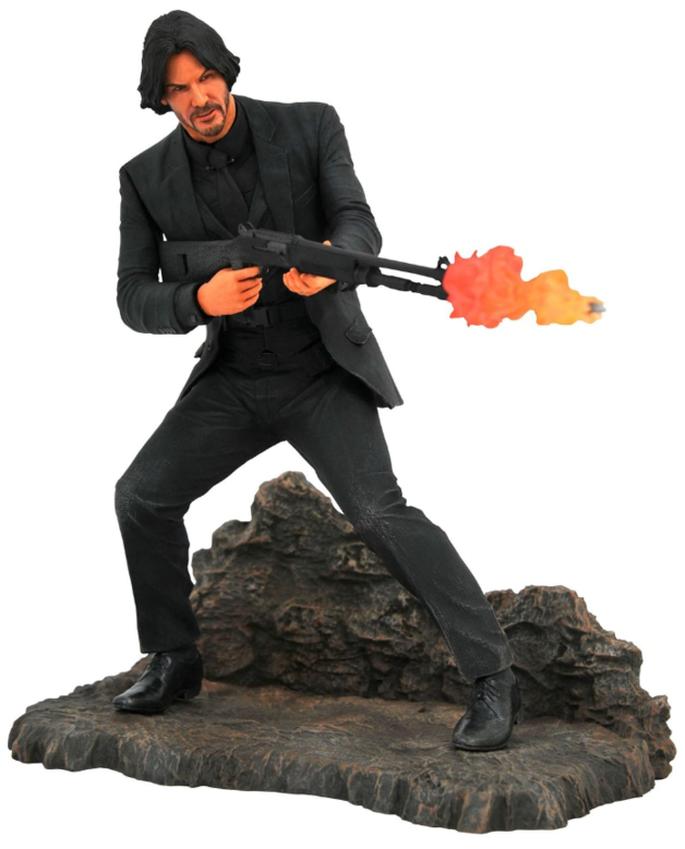"John Wick (Catacombs) - 9"" Gallery Series Statue"