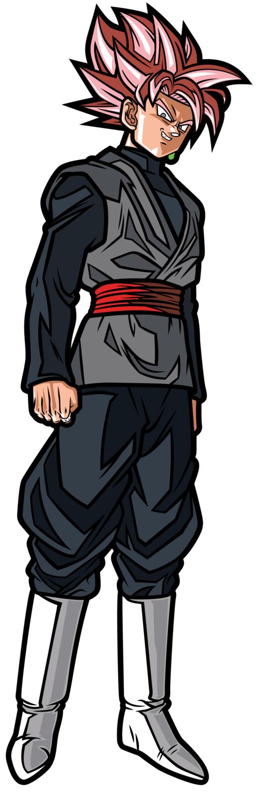 Dragon Ball Super: SS Rose Goku Black (#) - Collectors FiGPiN image