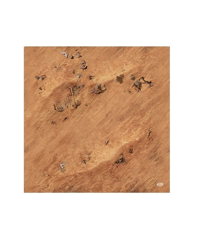 Star Wars Legion - Jakku Game Mat