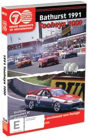 Magic Moments of Motorsport: 1991 Tooheys 1000 on DVD image