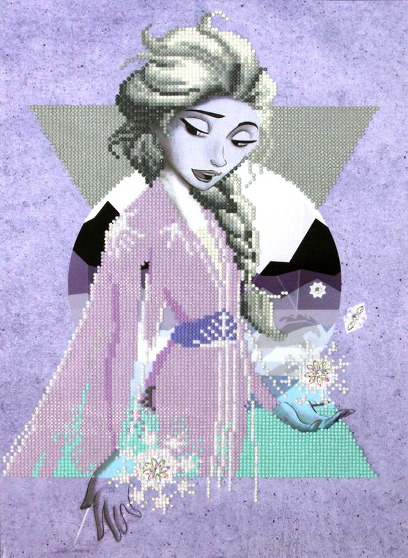 Diamond Dotz: Facet Art Kit - Elsa Lilac Snow