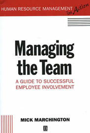 Managing the Team by Mick Marchington image