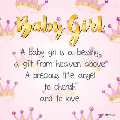 Mt Meru: Baby Girl Enlightened Wishes LED Block