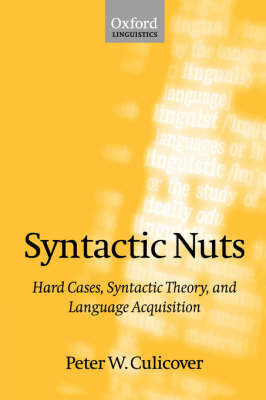 Syntactic Nuts by Peter W Culicover image