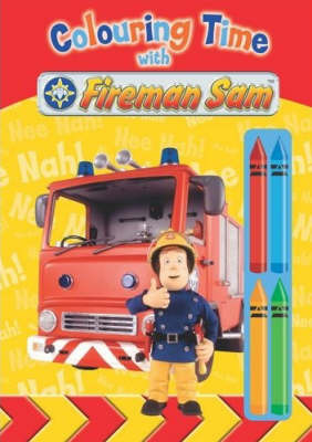 Colouring Time with Fireman Sam