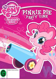 My Little Pony Friendship is Magic - Pinkie Pie Party Time on DVD image