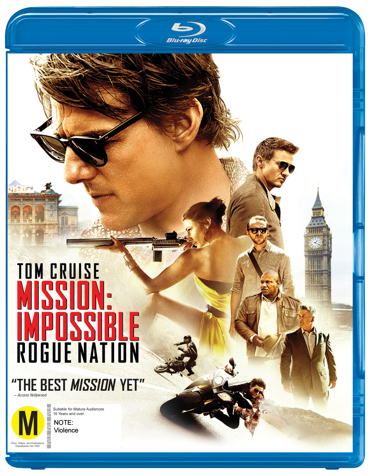 Mission Impossible 5 - Rogue Nation on Blu-ray image