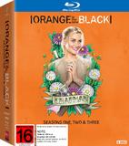 Orange is the New Black - Seasons One, Two & Three on Blu-ray