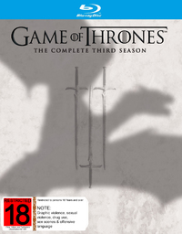 Game of Thrones - The Complete Third Season on Blu-ray image