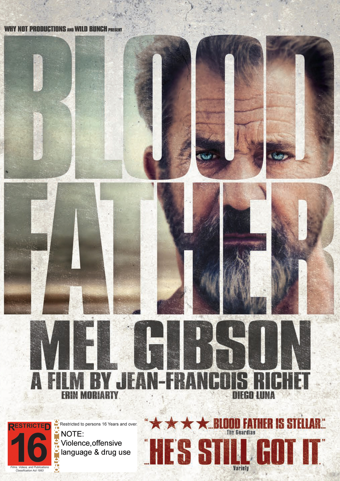 Blood Father on DVD image