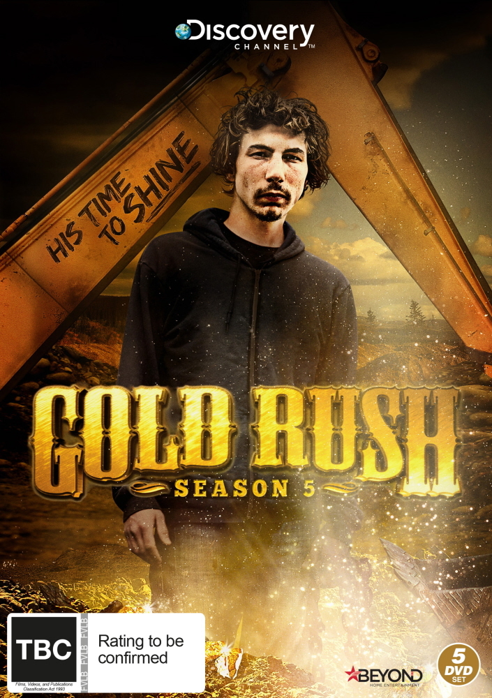 gold rush season 5 dvd buy now at mighty ape nz. Black Bedroom Furniture Sets. Home Design Ideas