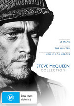 Steve McQueen Collection (Le Mans / Hunter / Hell Is For Heroes) (3 Disc Set) on DVD