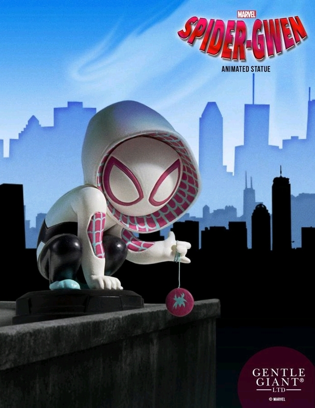 "Marvel - 3.5"" Spider-Gwen Animated Statue"