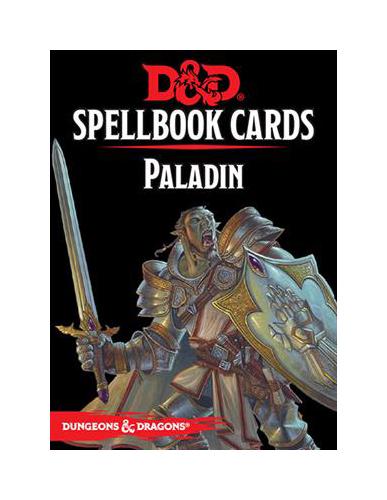 D&D Spellbook Cards: Paladin Deck (69 Cards)